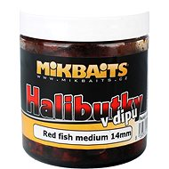 Mikbaits Halibut dip vörös hal, 14mm 250ml - Pelletek