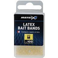 FOX Matrix Latex Bait Bands Medium 100 db - Gyűrű