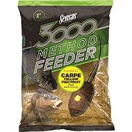 Sensas 3000 Method Feeder Carpe Yellow 1kg - Etetőanyag mix