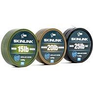 Nash SkinLink Semi-Stiff 35 lb 10 m Weed Green - Zsinór