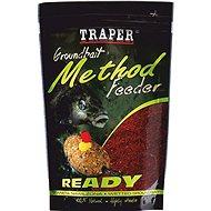 Traper Method Feeder Ready Halibut Piros 750g - Etetőanyag mix