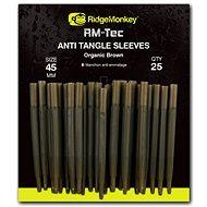 RidgeMonkey RM-Tec Anti Tangle Sleeves 45mm Barna 25db - Gubancgátló