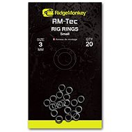 RidgeMonkey RM-Tec Rig Rings Small 3mm 20db - Gyűrű