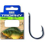 Zebco Trophy Carp Hook-to-Nylon, méret: 6 0,28 mm 70 cm 10 db - Szerelék