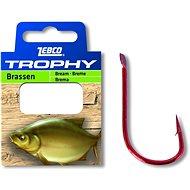 Zebco Trophy Bream Hook-to-Nylon, méret: 8 0,15 mm 70 cm 10 db - Szerelék