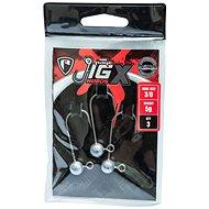 FOX Rage Jig X Heads 10g 6/0 méret, 3 db - Jigfej