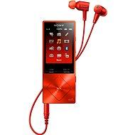 Sony Hi-Res NW-piros A25HNR - Mp3 lejátszó