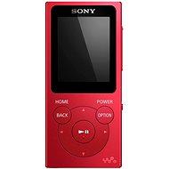 Sony WALKMAN NWE-393R piros - Mp3 lejátszó