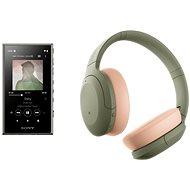 Sony MP4 16GB NW-A105L zöld + Sony Hi-Res WH-H910N zöld test - Szett