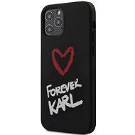 Karl Lagerfeld Forever Apple iPhone 12/12 Pro készülékhez Black - Mobiltelefon hátlap