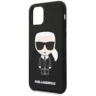 Karl Lagerfeld Iconic tok iPhone 11 készülékhez, fekete - Mobiltelefon hátlap