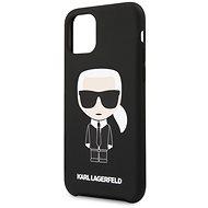 Karl Lagerfeld Iconic tok iPhone 11 Pro készülékhez, fekete - Mobiltelefon hátlap