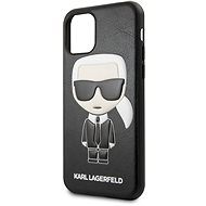 Karl Lagerfeld Embossed iPhone 11 Pro Black - Mobiltelefon hátlap