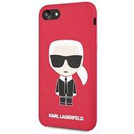 Karl Lagerfeld Full Body az iPhone 7/8 Red készülékhez - Mobiltelefon hátlap