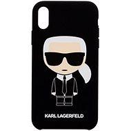 Karl Lagerfeld Full Body iPhone 7/8 Black készülékhez - Mobiltelefon hátlap