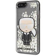 Karl Lagerfeld Liquid Glitter Iconic tok iPhone 7/8 Plus készülékhez - Mobiltelefon hátlap
