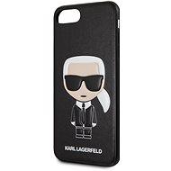 Karl Lagerfeld Ikonik tok iPhone 7/8 Plus készülékhez - fekete - Mobiltelefon hátlap