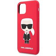 Karl Lagerfeld Iconic Body tok iPhone 11 Pro készülékhez - piros (EU Blister) - Mobiltelefon hátlap