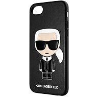 Karl Lagerfeld Full Body Iconic iPhone 8 / SE 2020 fekete - Mobiltelefon hátlap