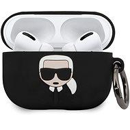 Karl Lagerfeld Black Szilikon tok Airpod Pro fülhallgatóhoz - Fülhallgató tok