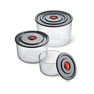 SIMAX PUMP&PUMP Ételtároló készlet, 0,35 l, 1 l, 2 l, 3 db - Edény