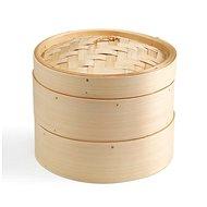 KEN HOM Excellence bambusz pároló 20 cm 2 szint + aprító 18 cm