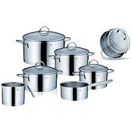Kela edénykészlet rozsdamentes acélból CAILIN 11db - Edénykészlet