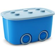 KIS Funny box L Kék 46 liter - Tárolódoboz