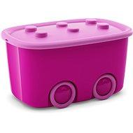 KIS Funny box L lila 46l - Tárolódoboz