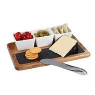 Kitchen Artist MES110 tálaló készlet pala táblával - Tálaló készlet