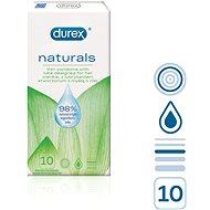 DUREX Naturals 10 db - Óvszer