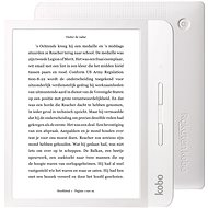 Kobo Libra H20 White - Ebook olvasó