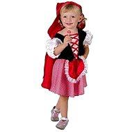 Gyermek karneváli ruha jelmez - Red Riding Hood méretét. XS - Gyerekjelmez