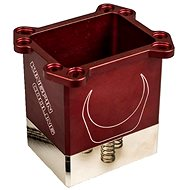 KINGPIN cooling Venom CPU Pot piros - Processzor hűtő
