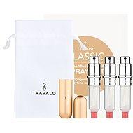 TRAVALO Refill Atomizer Classic HD Gold Set - Újratölthető parfümszóró