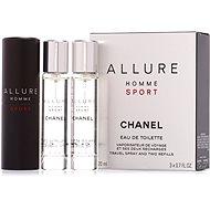 CHANEL Allure Homme Sport EdT 3 x 20 ml - Férfi toalettvíz