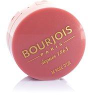 Arcpirosító BOURJOIS Blush 34 Rose d´Or arcpirosító 2,5 g - Tvářenka