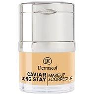 DERMACOL Caviar Long Stay Make-Up & Corrector Fair 30 ml - Alapozó