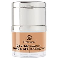 DERMACOL Caviar Long Stay Make-Up & Corrector Tan 30 ml - Alapozó