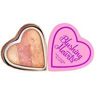 Makeup Revolution I Love Makeup Hearts Blusher Peachy Keen Heart - Arcpirosító