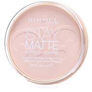 RIMMEL LONDON Stay Matte 14 g - szín: 003 Peach Glow - Púder