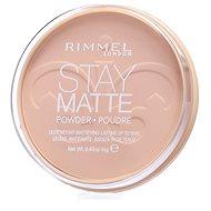 RIMMEL LONDON Stay Matte 14 g - szín: 004 Sandstorm - Púder