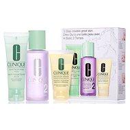 Kozmetikai ajándékcsomag CLINIQUE 3 Step Skin Care Typ 2 -  száraz és kombinált bőrre - Dárková kosmetická sada