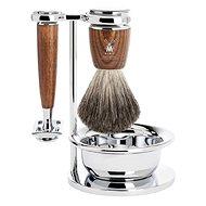 MÜHLE Rytmo Ash Pure Badger borotválkozó készlet, 4 részes - Kozmetikai ajándékcsomag