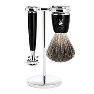 MÜHLE Rytmo Black Pure Badger 3 részes - Kozmetikai ajándékcsomag