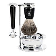 MÜHLE Rytmo Black Pure Badger 4 db - Kozmetikai ajándékcsomag