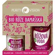 PURITY VISION Fiatalító készlet damaszkuszi rózsával - Kozmetikai ajándékcsomag