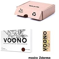 VOONO Dark brown 500 g + Amla Sada - Kozmetikai ajándékcsomag