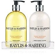 BAYLIS & HARDING kozmetikai szett - mandarin és grapefruit 2 × 500 ml - Sminkkészlet