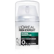 Férfi arckrém ĽORÉAL PARIS Men Expert Hydra Sensitive Protecting Moisturiser 24h. 50 ml - Pánský pleťový krém